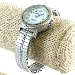 VINTAGE TIMEX INDIGLO LARGE #S STRETCH WATCH